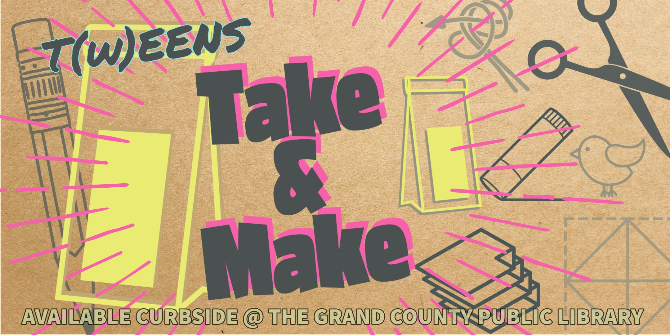 Take and Make Kits for Teens and Tweens- General (1)